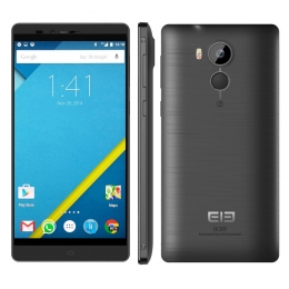 "ELEPHONE VOWNEY LITE BLACK 5.5"" MTK6795 64-bit Android 5.1 4G Phone 3GB RAM 21MP CAM Touch ID"