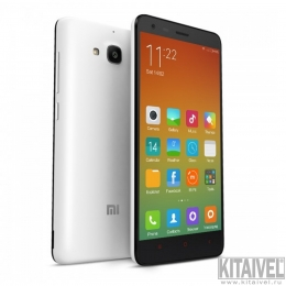 "XIAOMI Redmi 2 Black/White 4.7"" IPS HD MSM8916 Quad-core 64-bit Android 4.4 4G LTE Phone 8MP CAM 1GB RAM 8GB ROM"